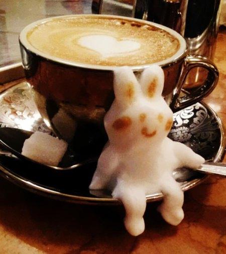 Fincana Sığmayan 3D Latte